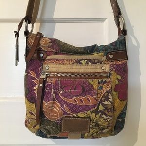 Cute Fossil Crossbody Purse
